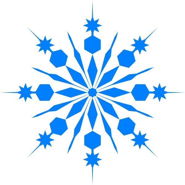 600x600 Winter Clipart Snowflake