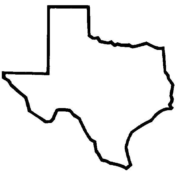 582x588 Texas Clipart
