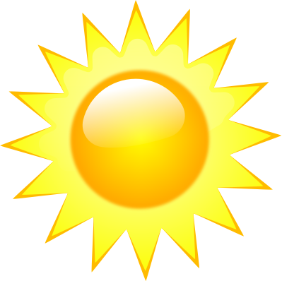 399x398 Sunshine Clipart Free Many Interesting Cliparts