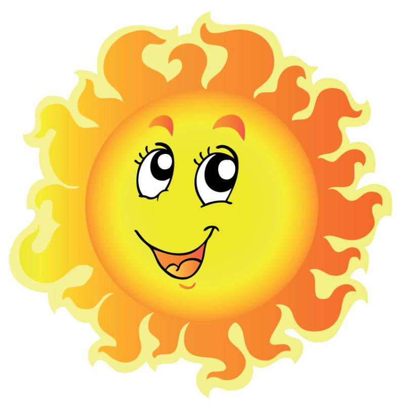 800x800 Sunshine Clipart Smiley Face