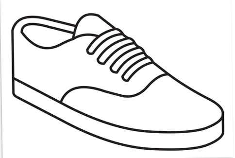 484x325 Drawn Sneakers Cool Sneaker