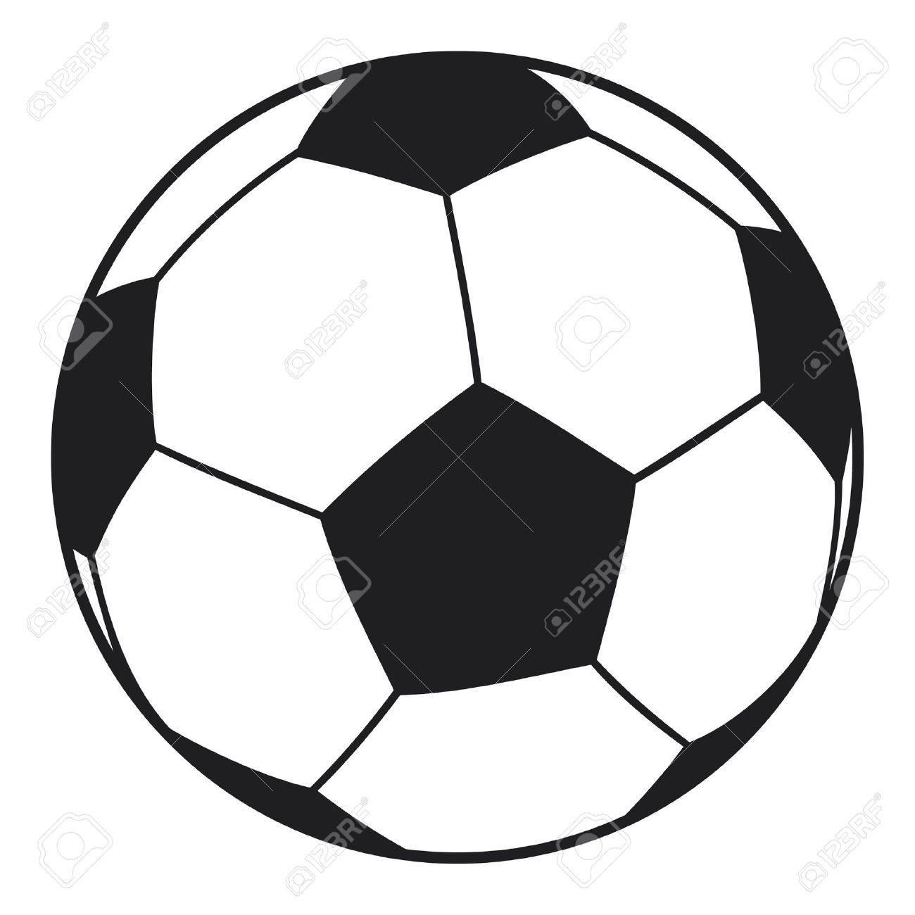 1300x1300 Vector Football Ball (Soccer Ball) Royalty Free Cliparts, Vectors