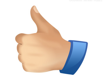 350x280 Thumbs Up Thumb Clip Art
