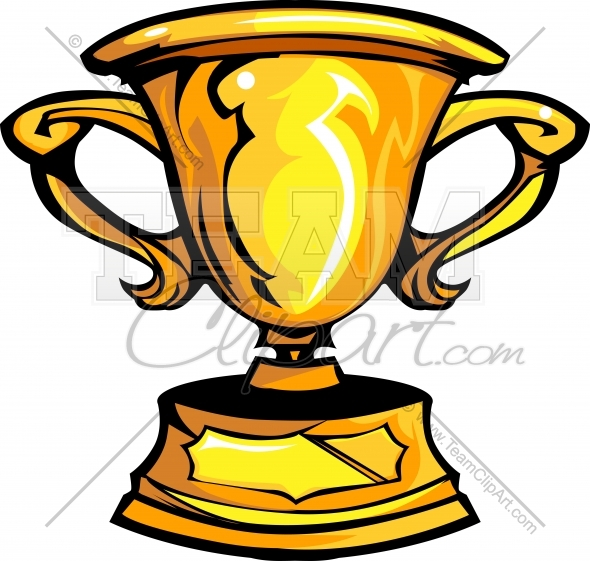 590x561 Trophy Clipart Image. Easy To Edit Vector Format.