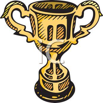347x350 Golden Trophy