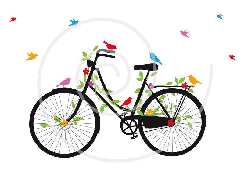 800x560 Bicycle Clipart Vintage Bicycle
