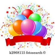 194x194 Birthday Balloons Clipart Illustrations. 28,342 Birthday Balloons