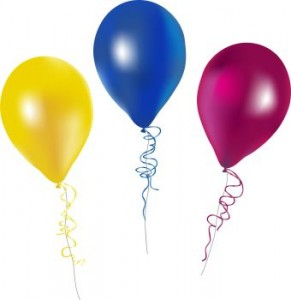 291x300 Birthday Balloons Free Birthday Clipart Balloons Muuf 3