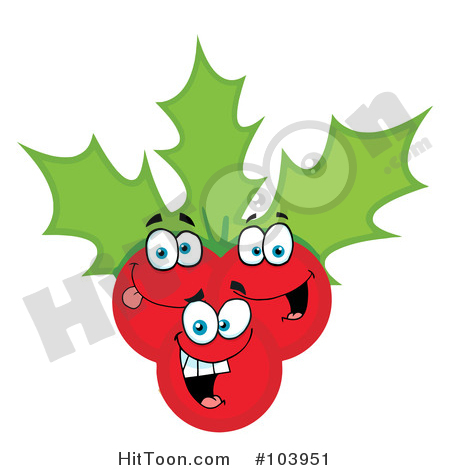 450x470 Holly Clipart
