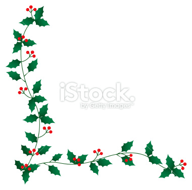 380x377 Holly Clipart Border Many Interesting Cliparts