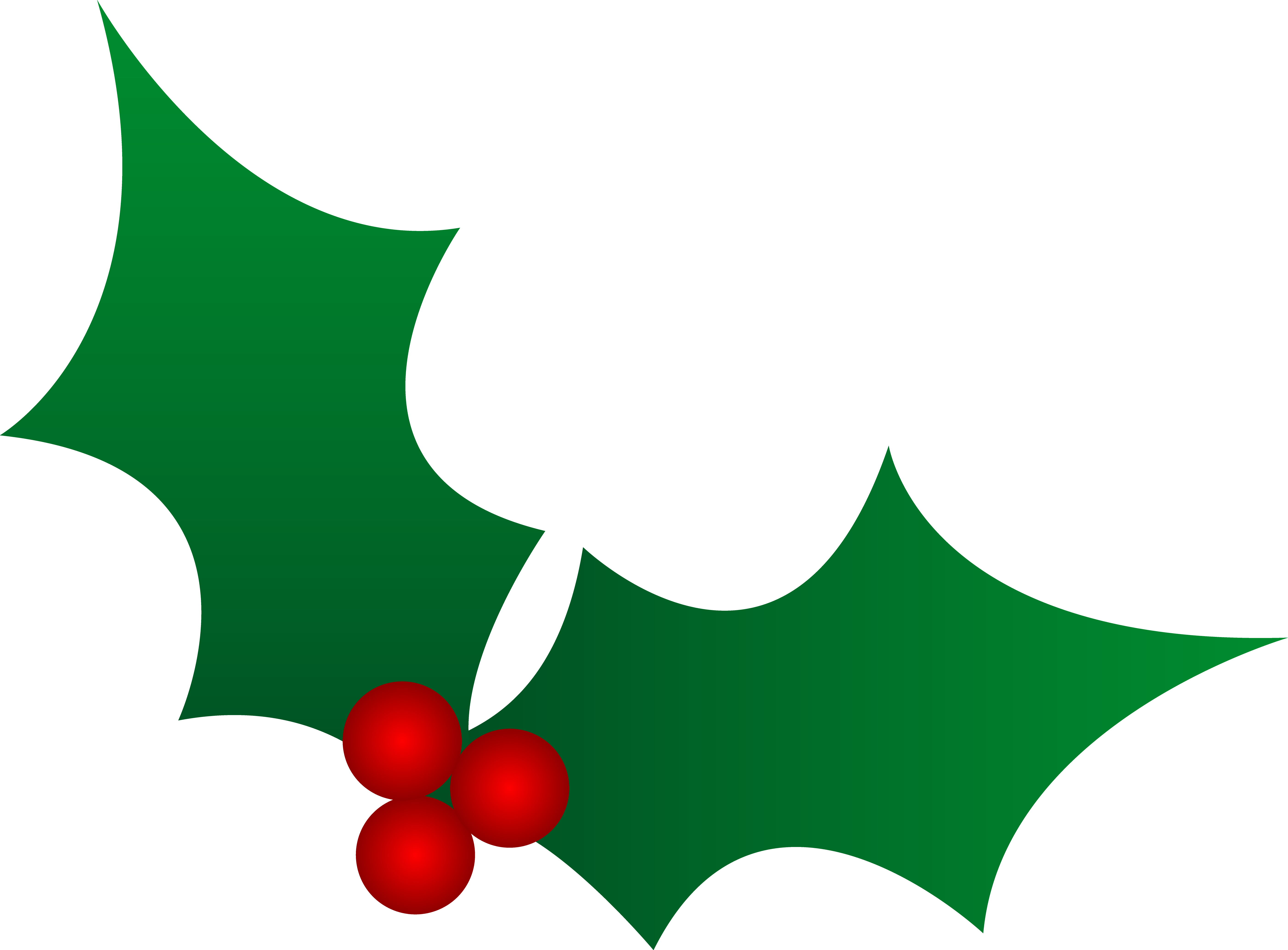 5609x4141 Christmas Holly Design