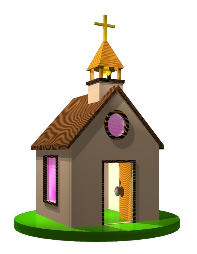 775x1000 Little Church Clipart