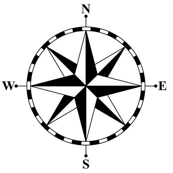 564x564 Compass Clip Art Maps Pass Rose