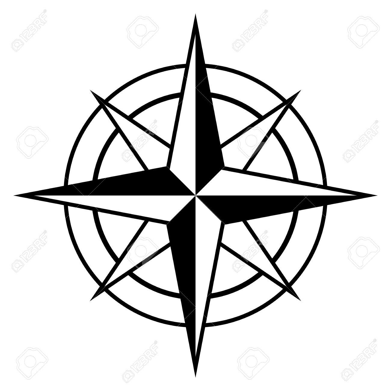 1300x1300 Compass Clipart Nautical Theme