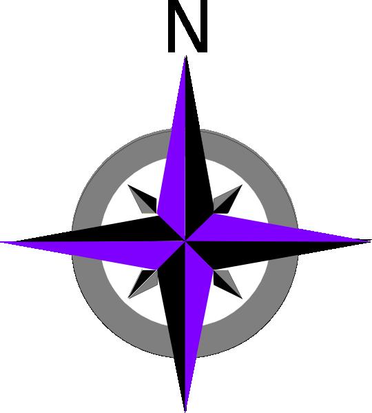 540x599 Rose Compass Clip Art