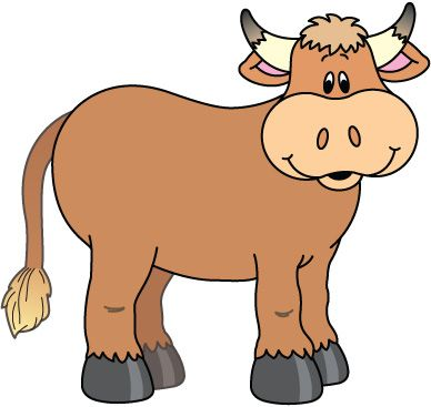 388x367 821 Best Animals Clip Art Images Pictures, Cattle