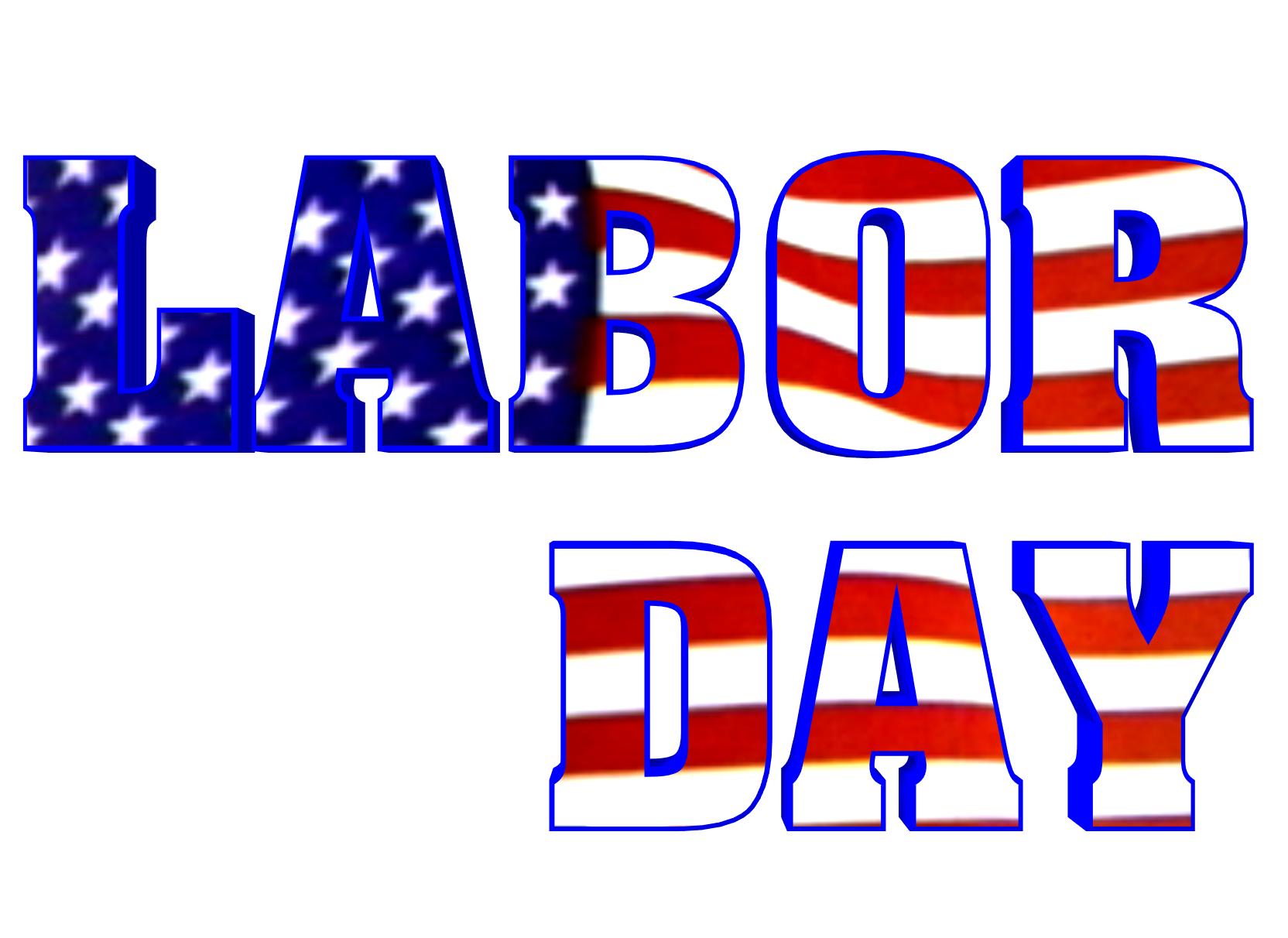 1664x1212 September Labor Day Calendar Clipart