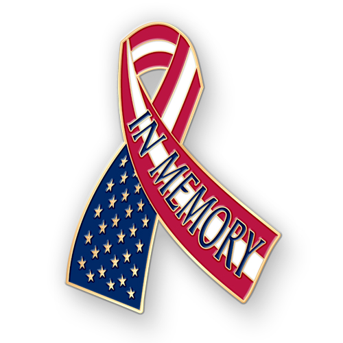 500x500 Memorial Day Ribbon Clipart