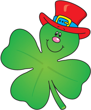 302x365 Four Leaf Clover Pics For Clover Leaf Clip Art St Patrick'Day