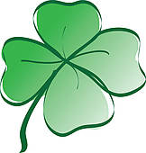 162x170 Luck Clipart Four Leaf Clover