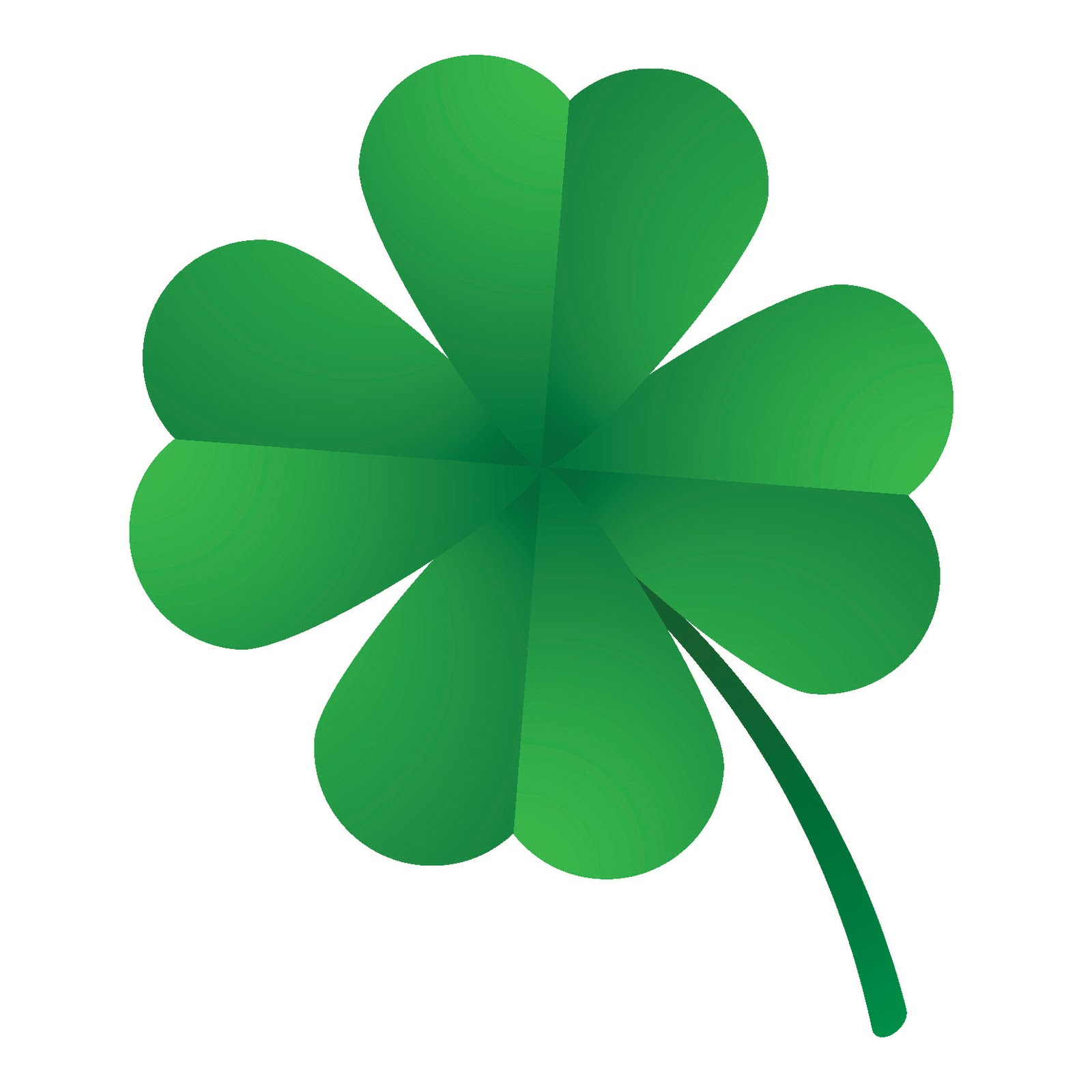 1600x1600 4 Leaf Clover Four Leaf Clover Clipart 2
