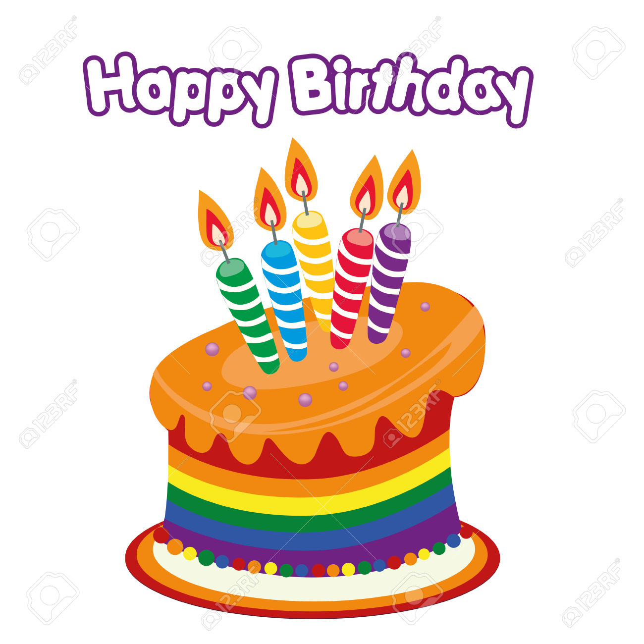 1300x1300 Clipart happy birthday cake