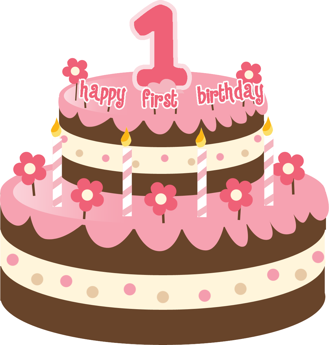 1087x1137 First Birthday Cake Clipart (44+)