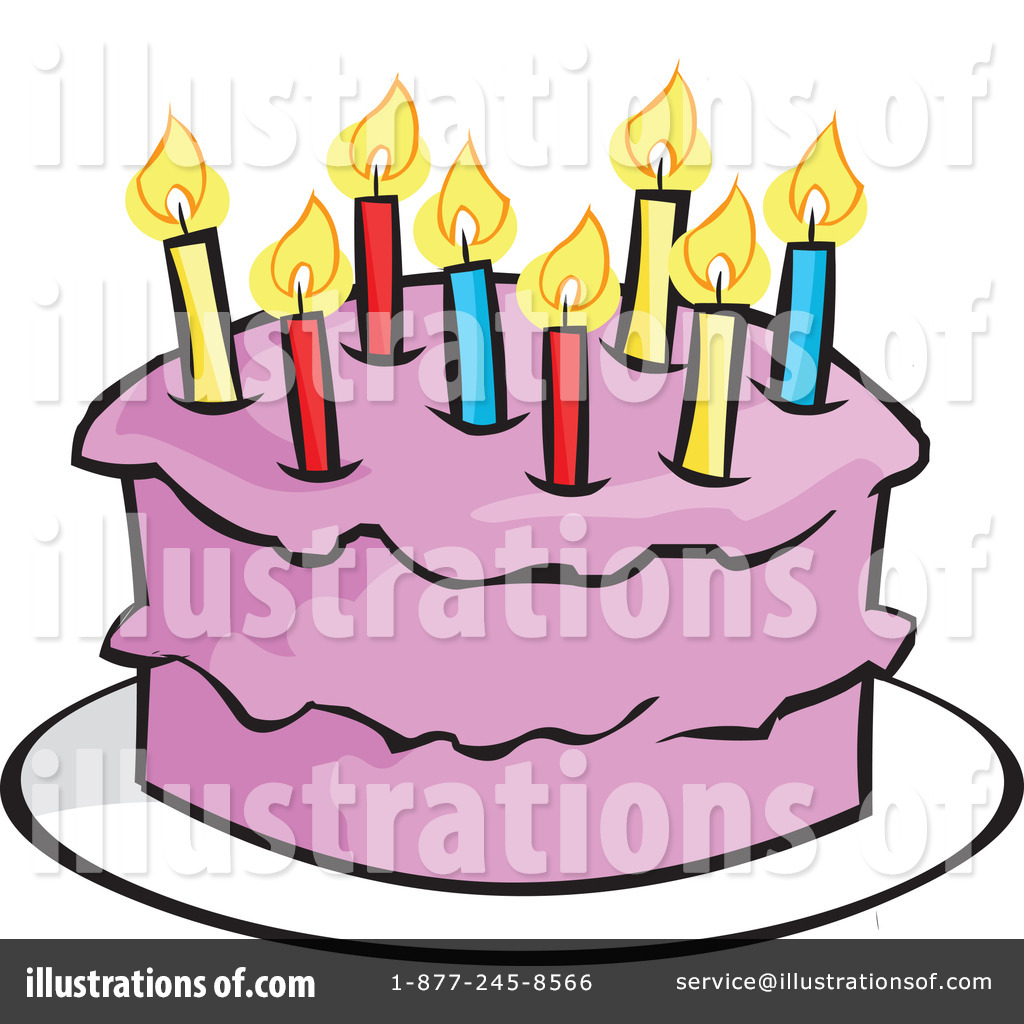 1024x1024 Birthday Cake Clipart