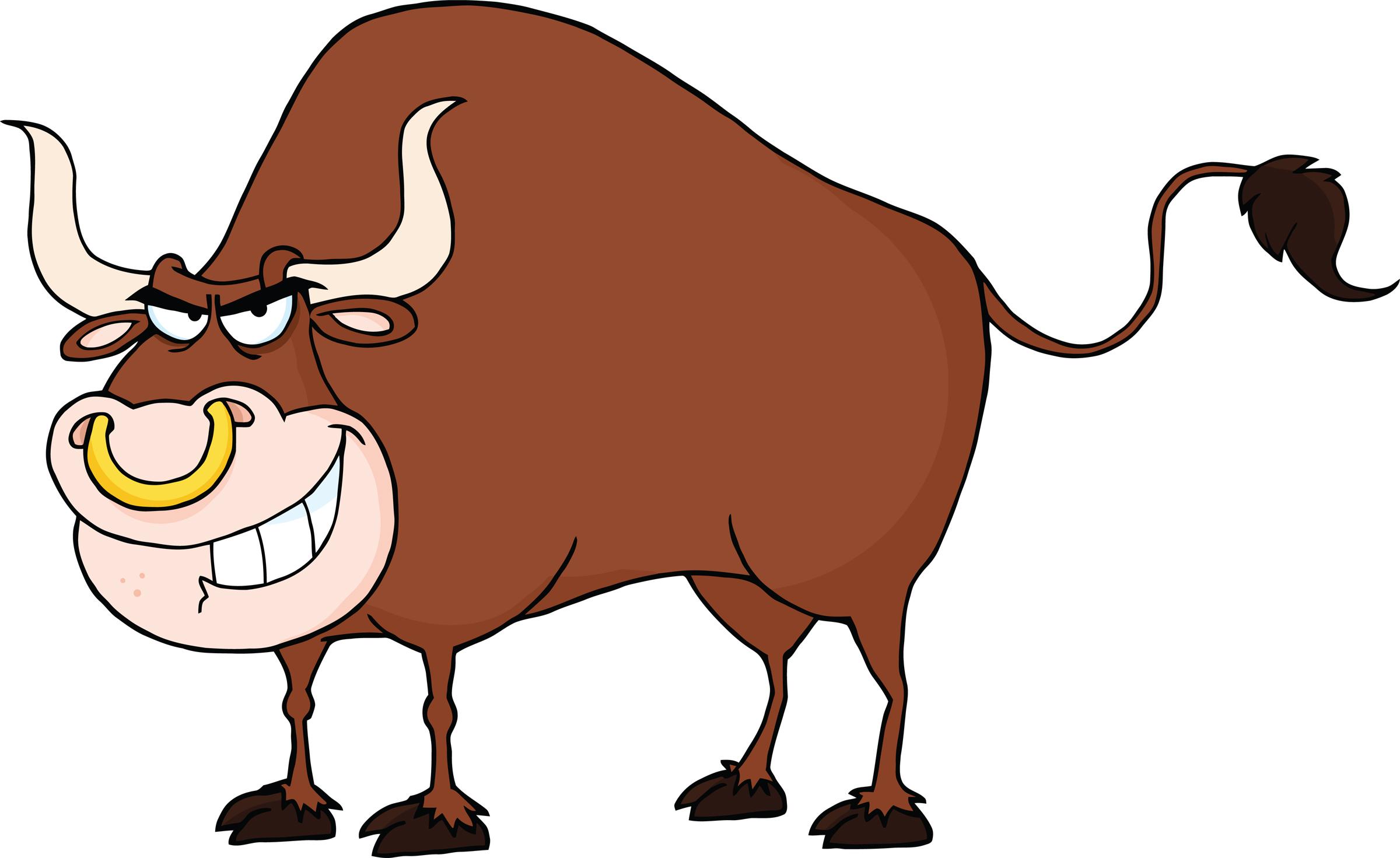2400x1471 Bull Clipart Bull Horn