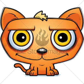 325x325 Cat Smiling Gl Stock Images