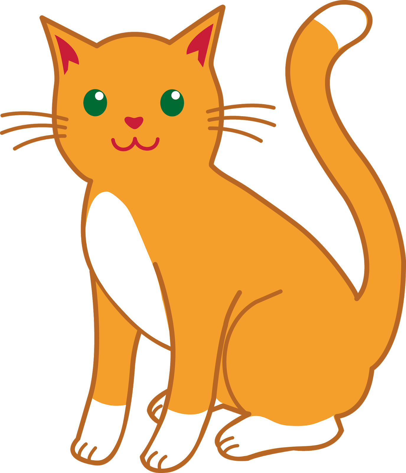 1375x1600 Best Cat Clipart