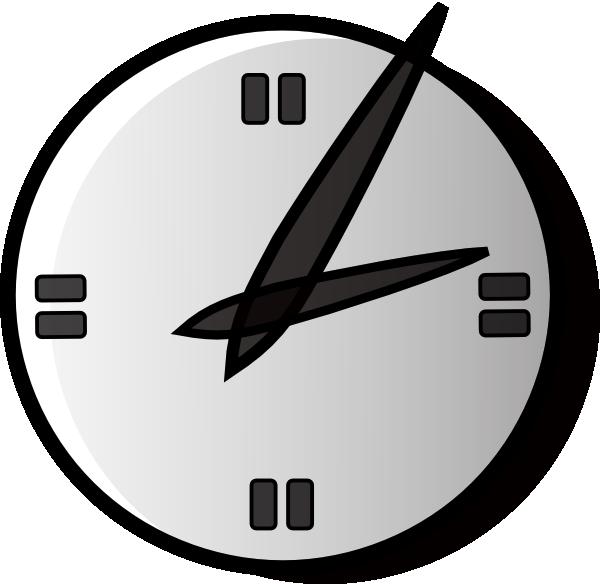 600x584 Clock Clipart Png