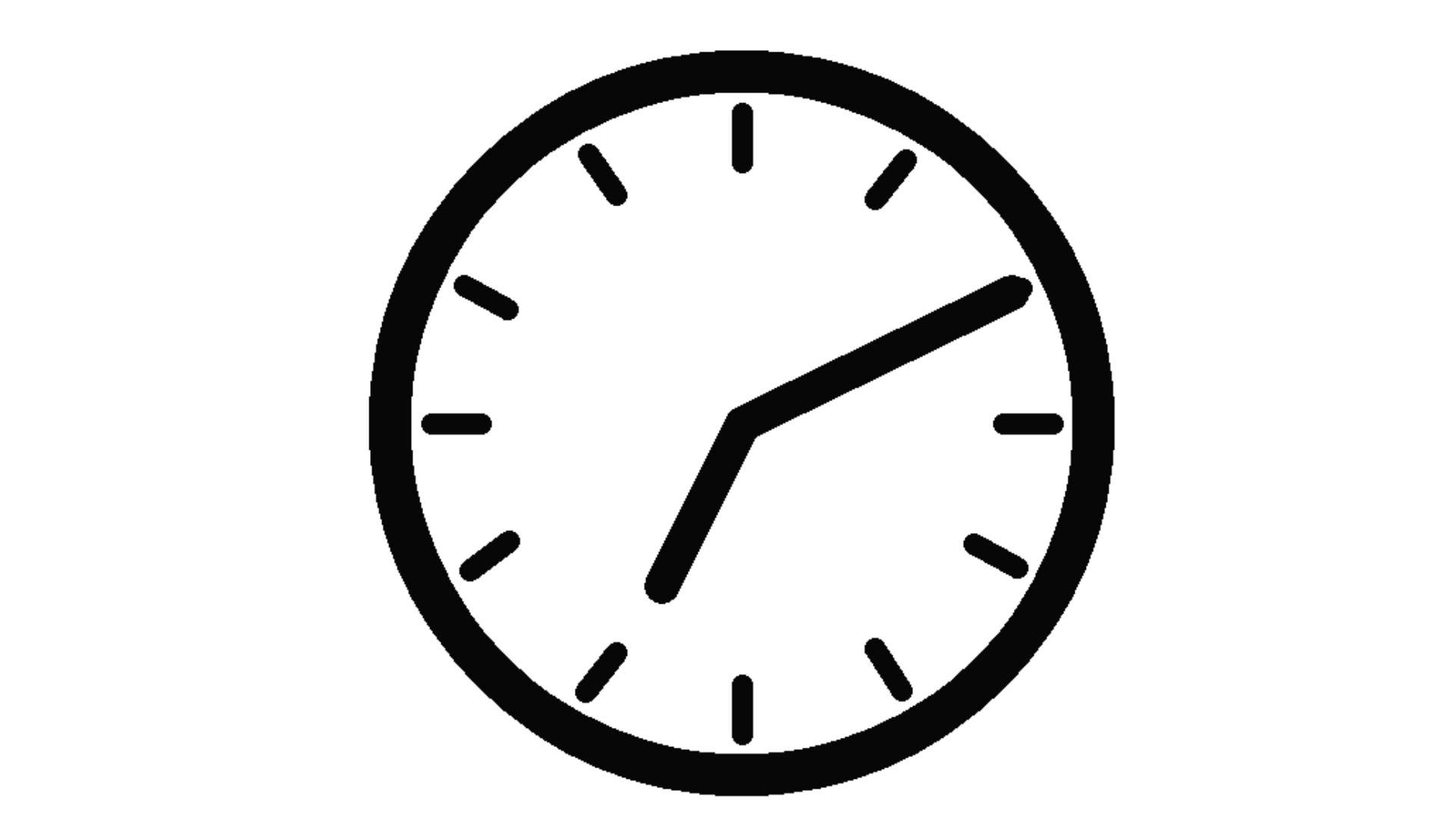 1920x1080 Clock Animation