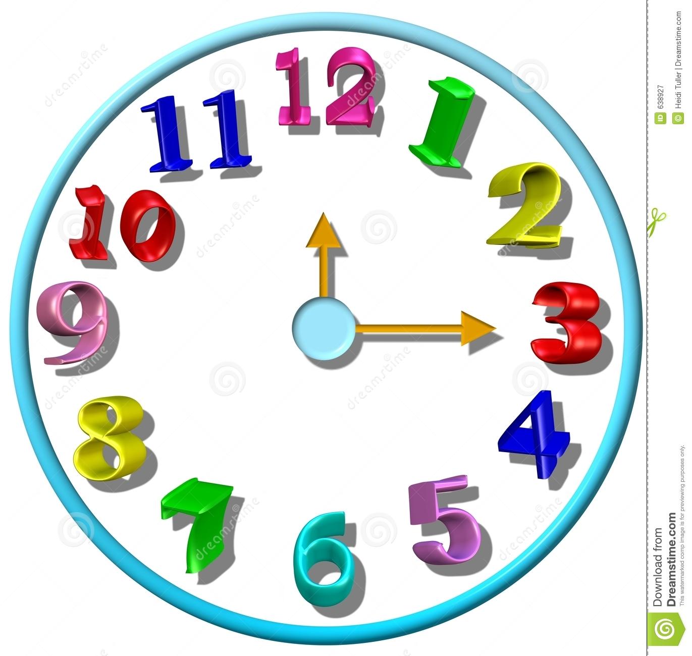 1371x1300 Clock Clipart Kindergarten