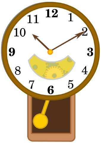 340x479 Clock Clipart Rectangle