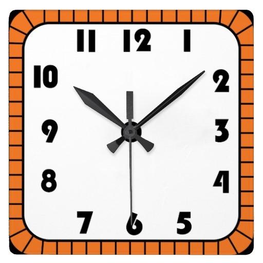 512x512 Clock Clipart Square