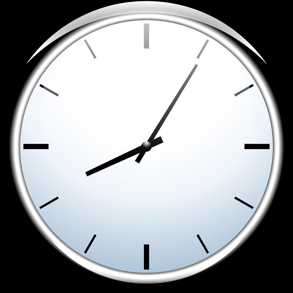 958x958 Clock Clipart Transparent Background