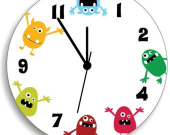 340x270 Noon Clock Clipart