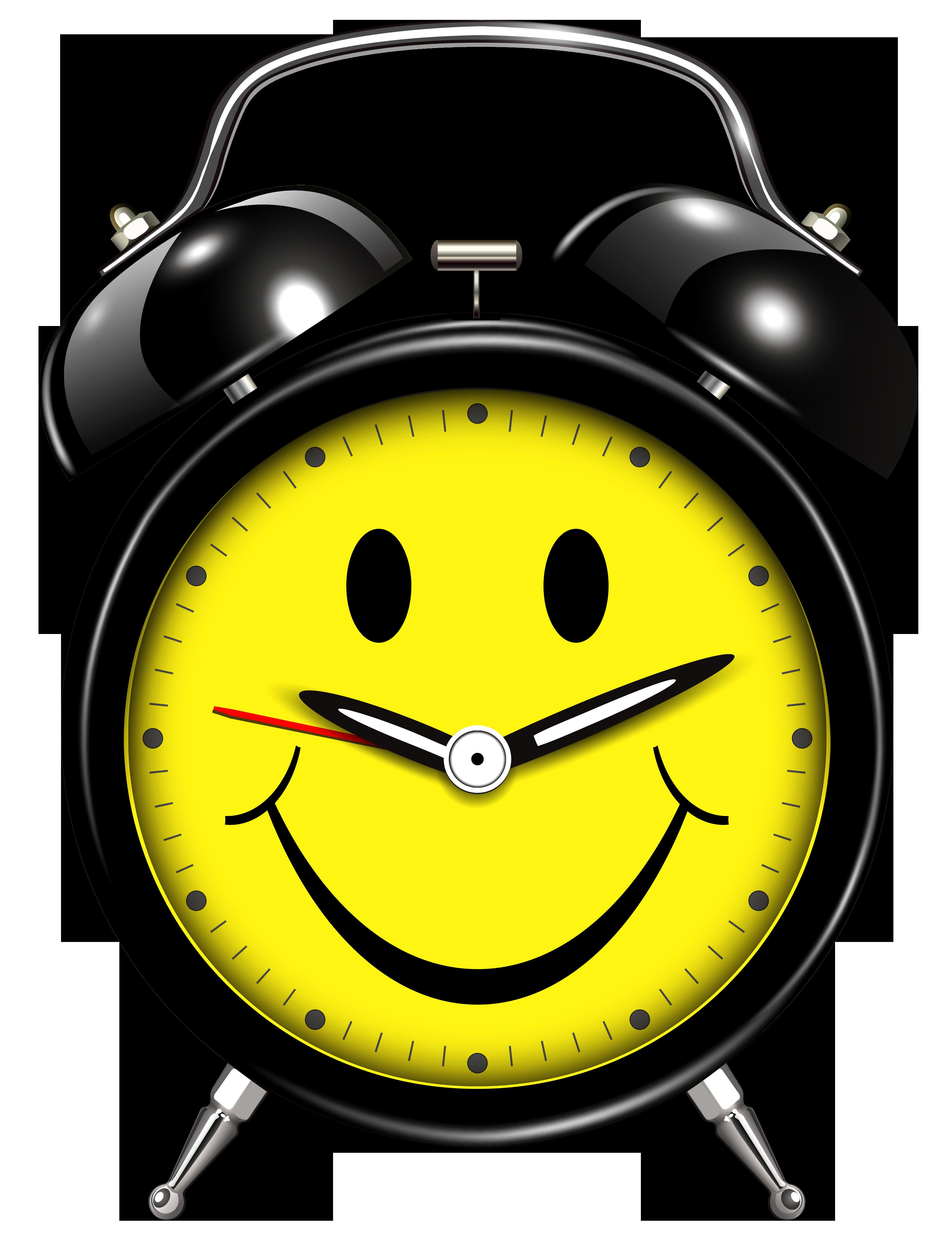 3167x4123 Smiling Alarm Clock Png Clip Art