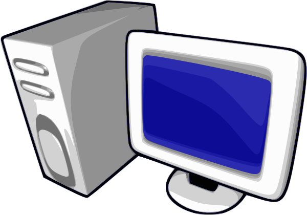 Images Of A Computer Clipart
