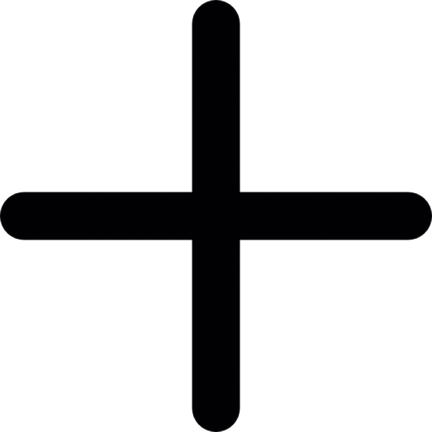 626x626 Cross Of Plus Sign Icons Free Download