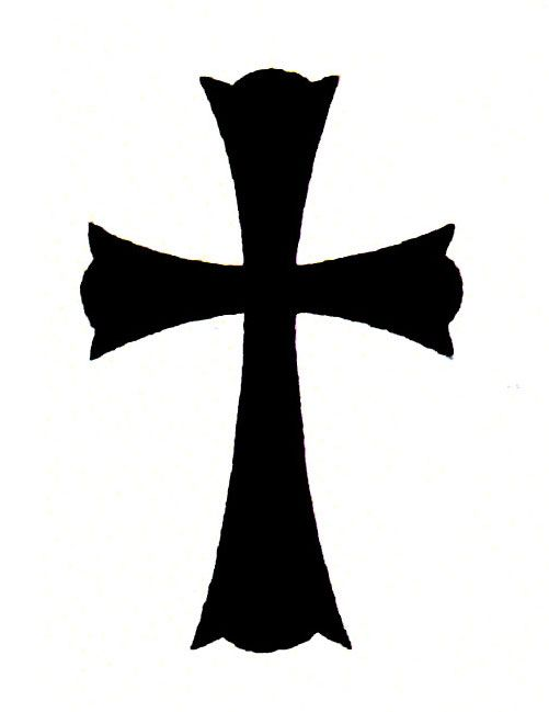 501x649 Best Black Cross Tattoos Ideas Tattoo On Back