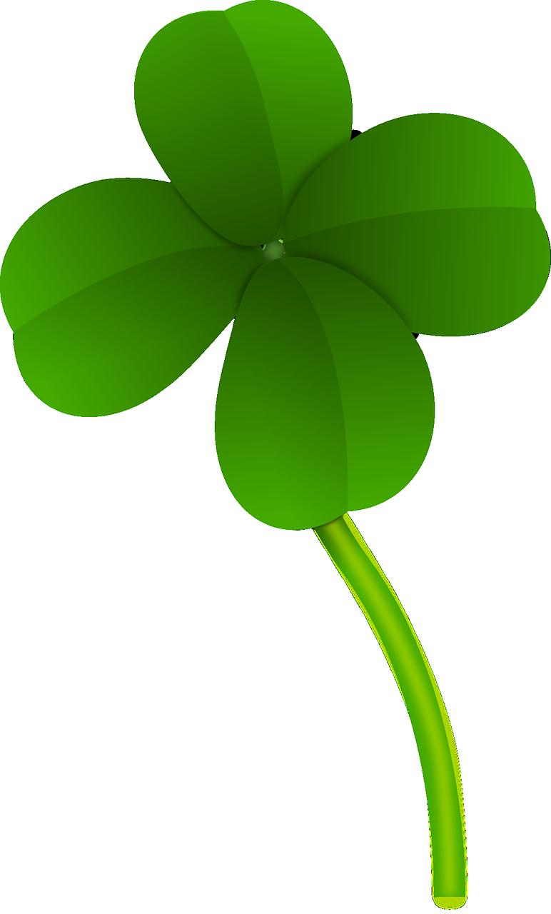 772x1280 Clipart Four Leaf Clover