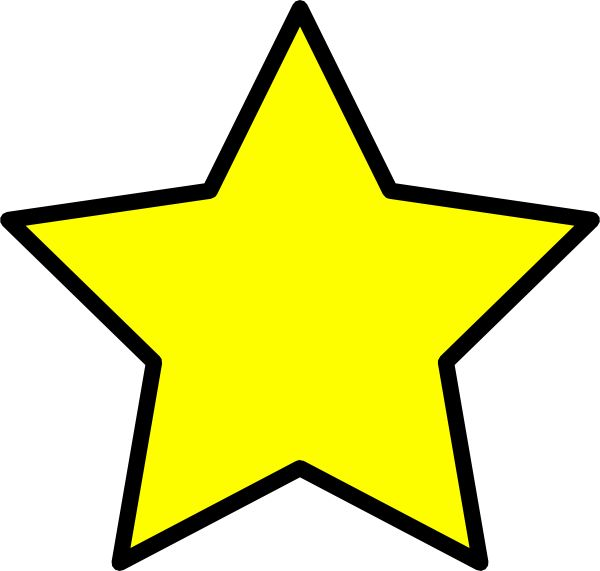 600x571 Gold Star Clipart Free Images 3