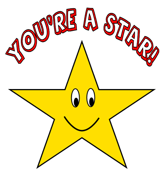 559x599 Gold Star Good Job Clipart Clipartfest