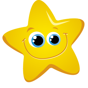 300x300 Free Star Clipart Image
