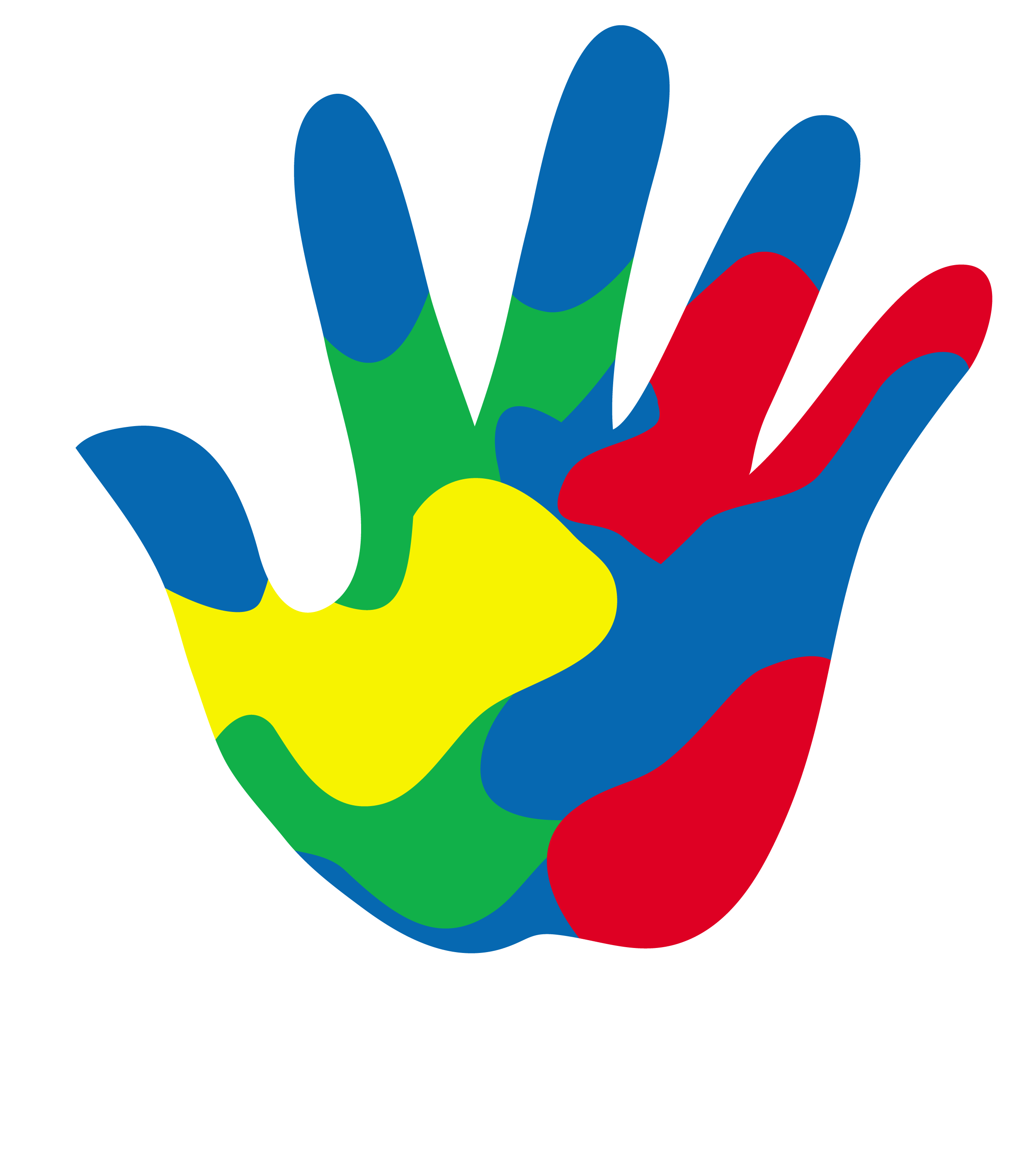2499x2825 Small Hand Covered In Paint