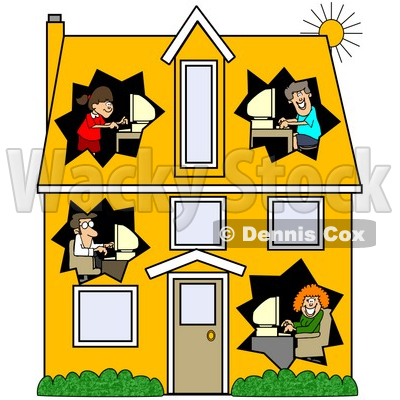 400x400 Cute House Clipart Clipart Panda