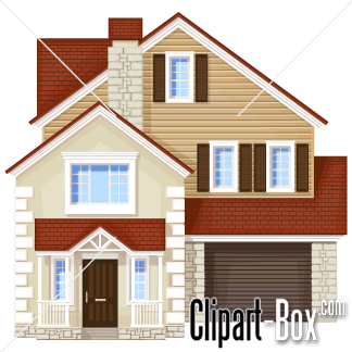 324x324 Front Of A House Clipart