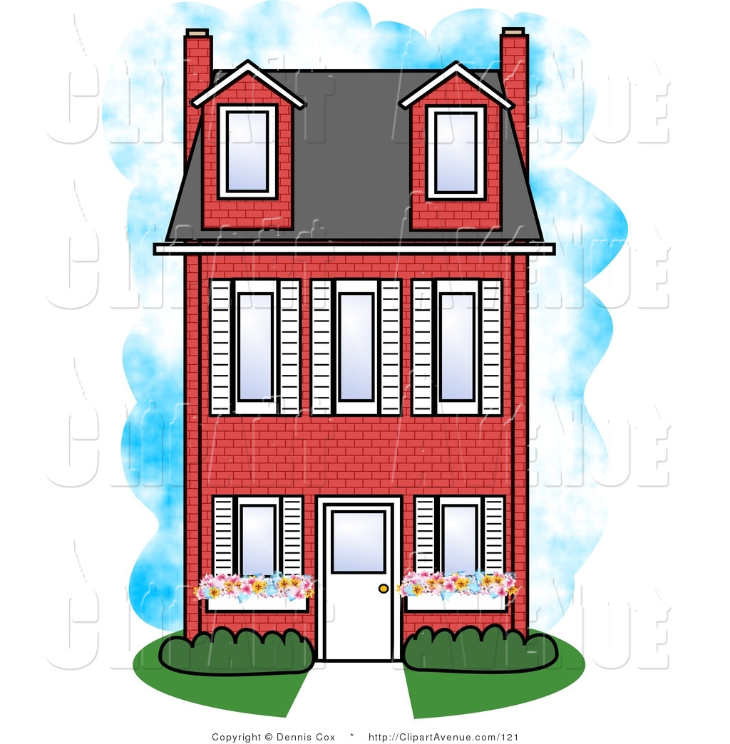1024x1044 Red Brick House Clipart Clipart Panda